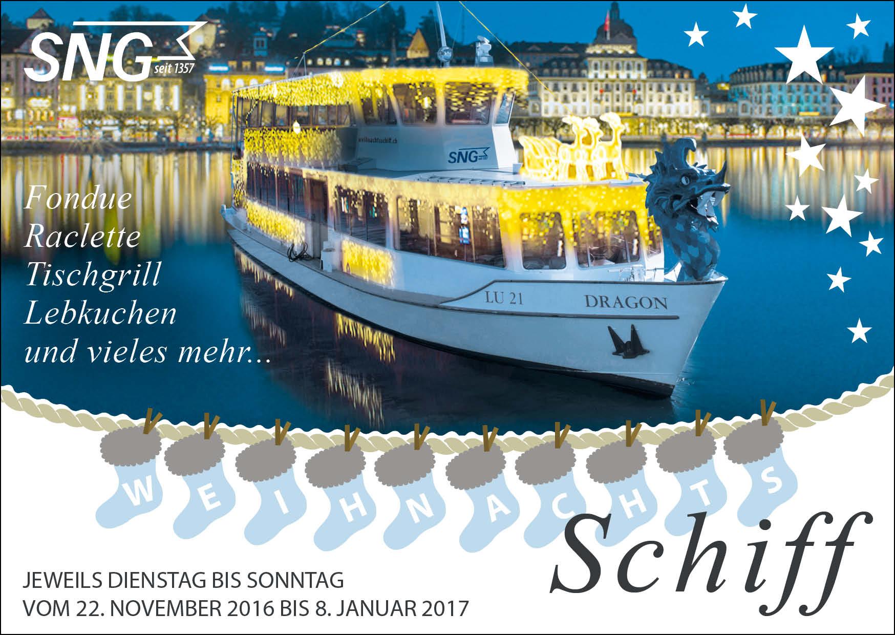 SNG Inserat Weihnachtsschiff 2016