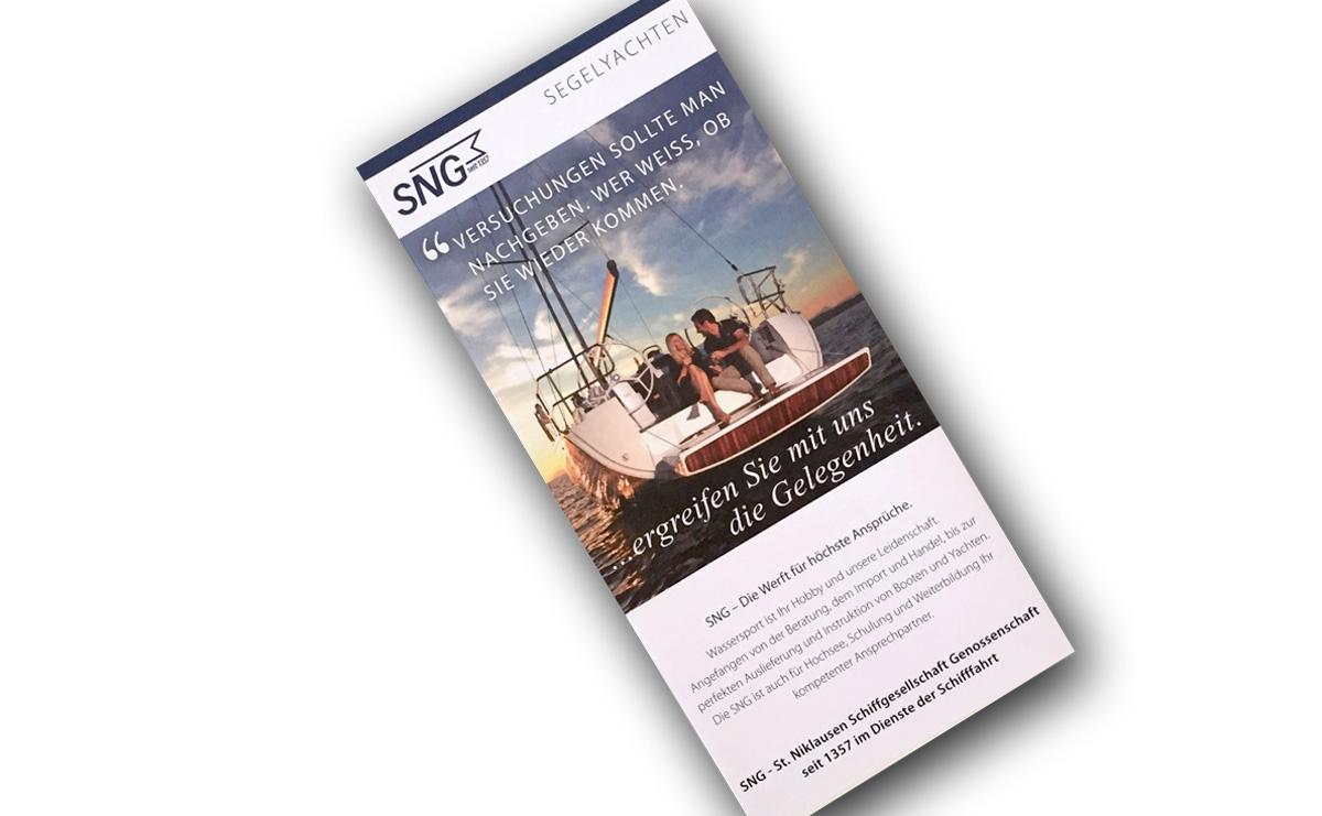 SNG Prospekt Boote & Yachten - Segelyachten