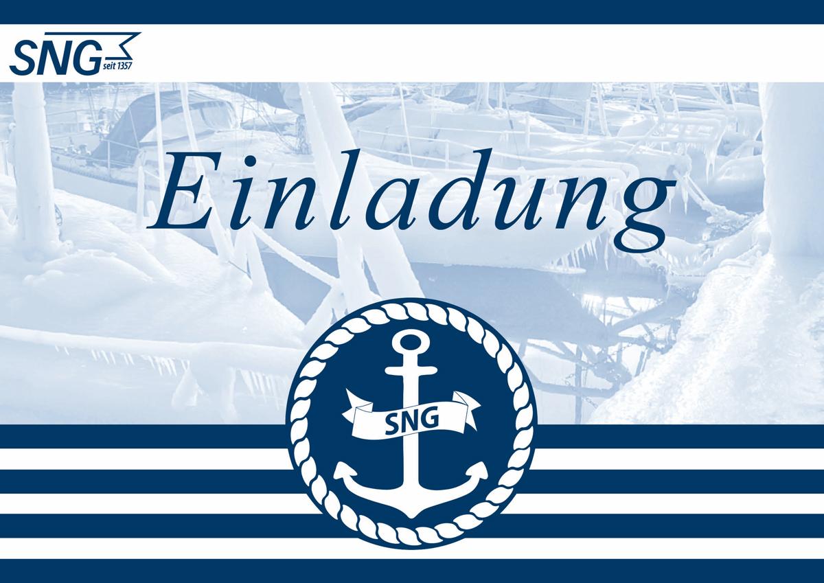SNG Einladungskarte Winteranlass