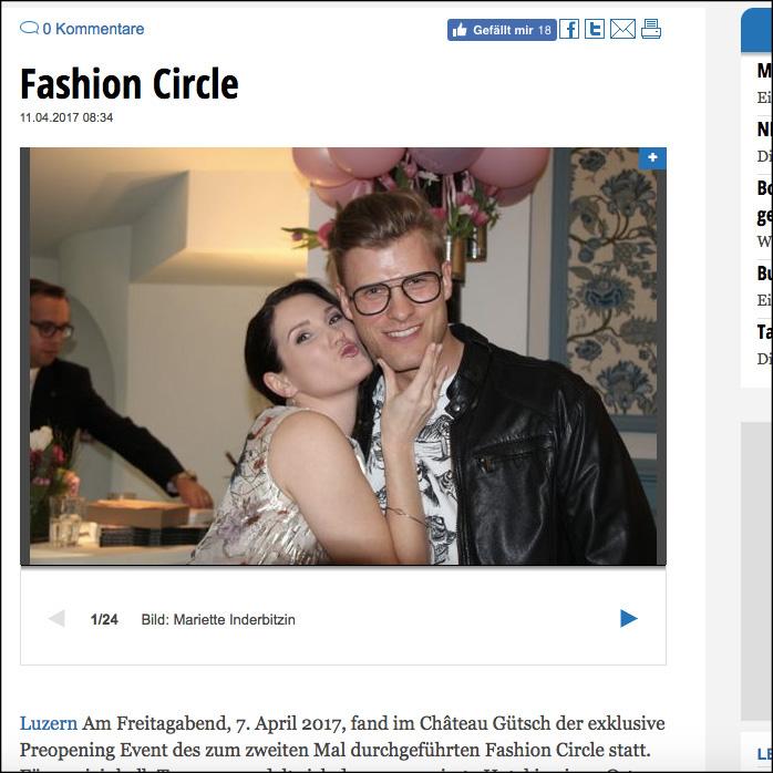 Beitrag mit Bilder auf luru.ch