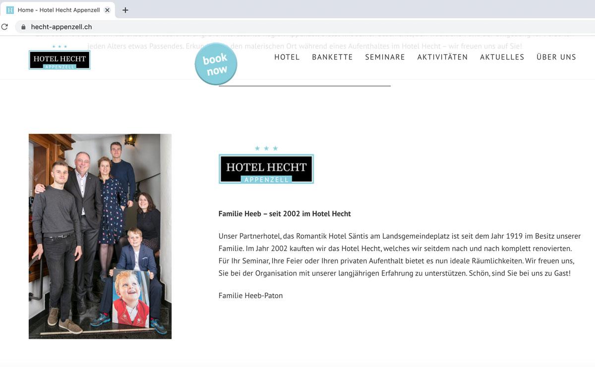 NEUAUFTRITT EINER HOTELGRUPPE